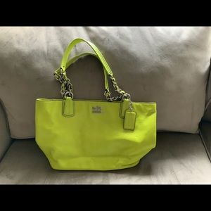 COACH MADISON LEATHER TOTE 20466